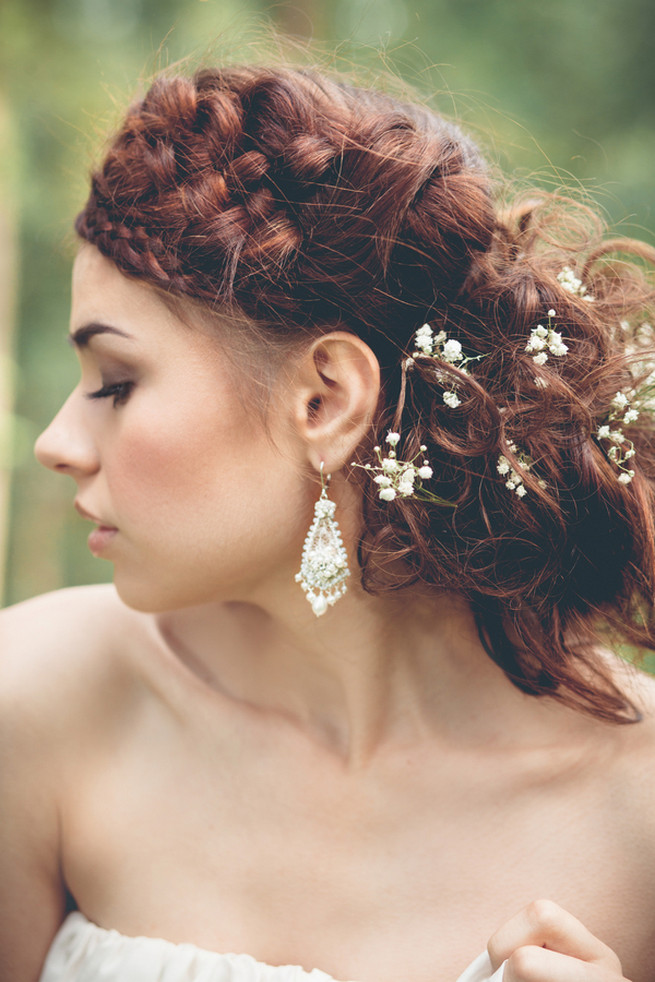 Luxe Handcrafted Heirloom Wedding Jewelry by Edera Jewelry // La Candella Weddings Photography