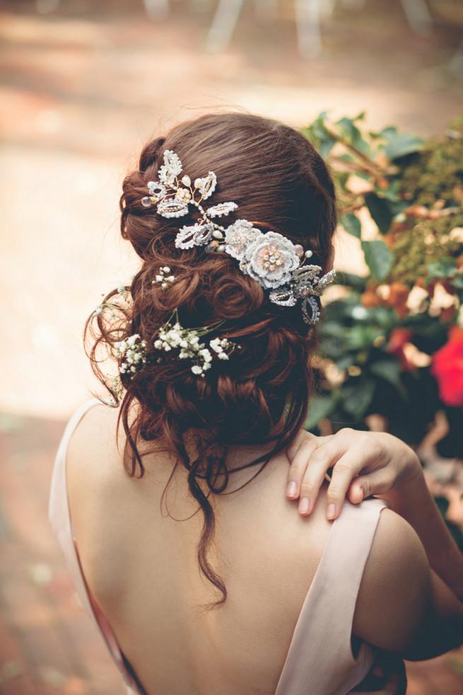 Bohemian Wedding Jewelry by Edera Jewelry {La Candella}