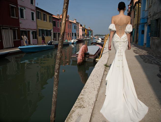 Backless Inbal Dror Wedding Dresses 2015