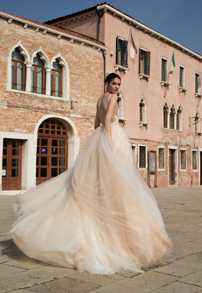 Blush Inbal Dror Wedding Dresses 2015
