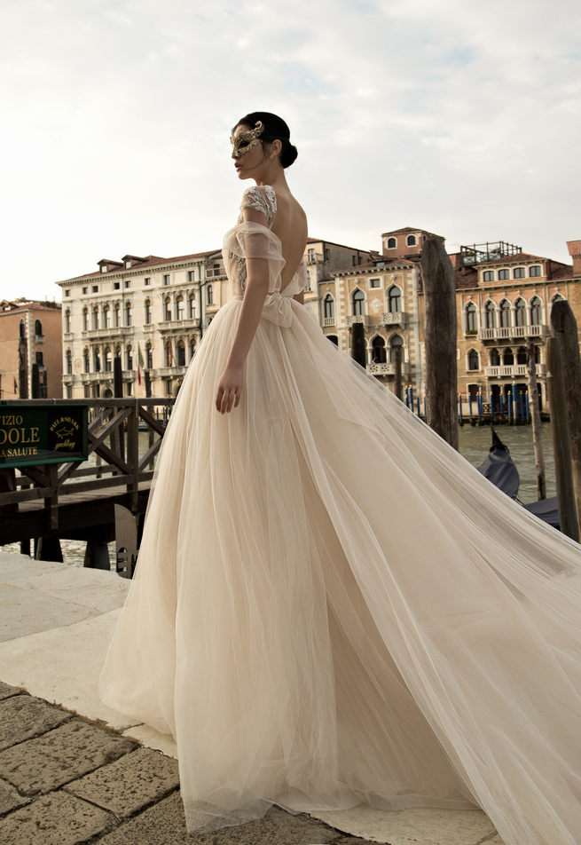 Tulle Inbal Dror Wedding Dresses 2015