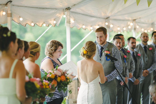 Mint Navy DIY Farm Wedding (19)