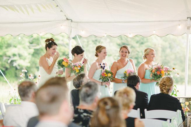 Mint Navy DIY Farm Wedding (20)