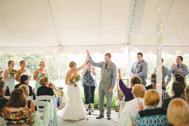Mint Navy DIY Farm Wedding (21)