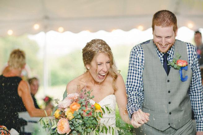 Mint Navy DIY Farm Wedding (22)