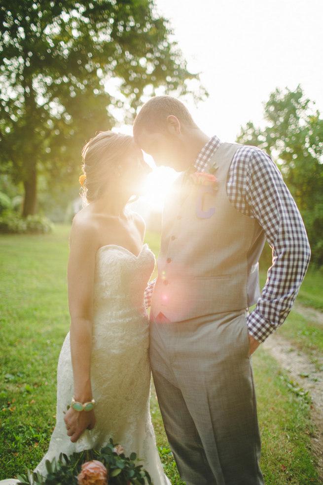 Mint Navy DIY Farm Wedding (24)