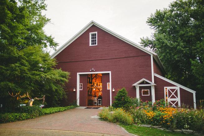 Mint Navy DIY Farm Wedding (33)