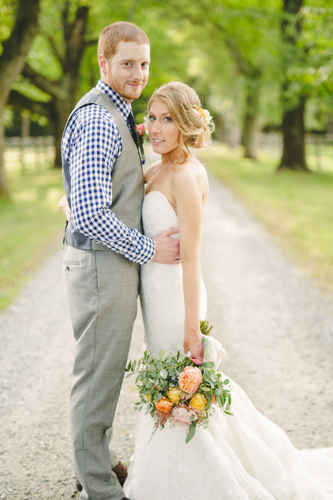 Mint Navy DIY Farm Wedding (49)