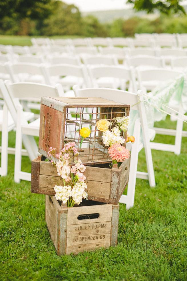Mint Navy DIY Farm Wedding (55)