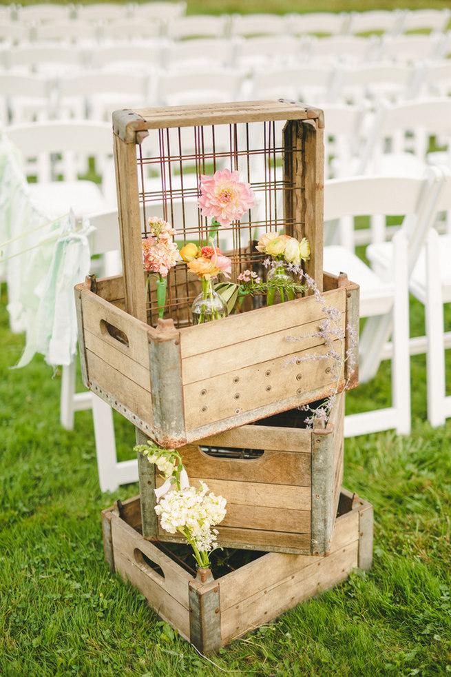 Mint Navy DIY Farm Wedding (56)