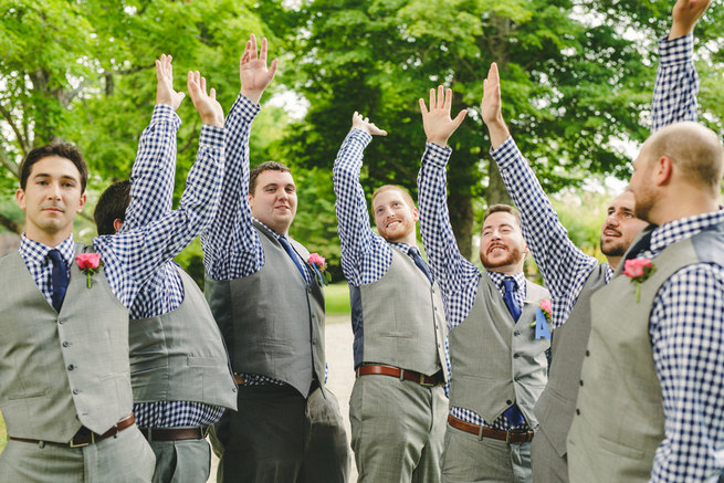 Mint Navy DIY Farm Wedding (63)