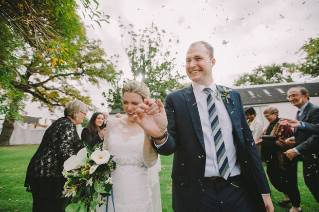 Click to see this Navy Gold Wedding at Babylonstoren / Charlene Schreuder Photography