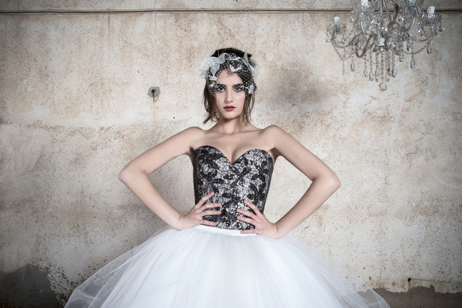 Black and white Ramon Herrerías Wedding Dresses