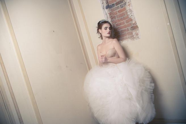 Fluffly tutu style Ramon Herrerías Wedding Dresses
