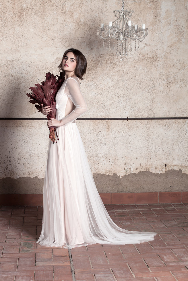 Backless Ramon Herrerías Wedding Dresses