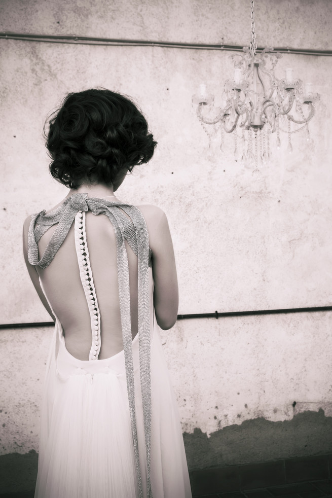 Illusion back Ramon Herrerías Wedding Dresses
