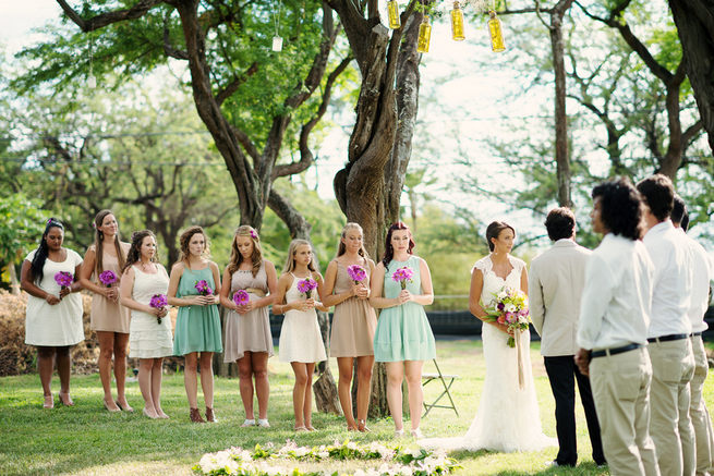 Sage Green & Taupe Rustic  Maui Wedding by Bella Eva Photography