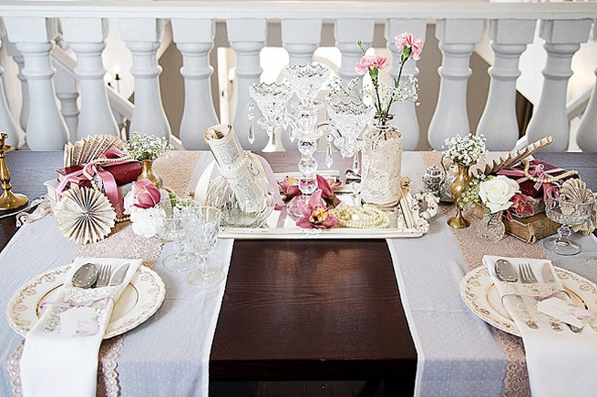 Soft Pink and Gold Wedding by Samanatha Jackson Photo