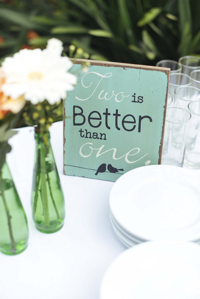 Two is better than one // Succulent Garden Wedding // Claire Thomson Photography