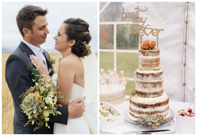 Succulent Garden Wedding {Claire Thomson Photography}