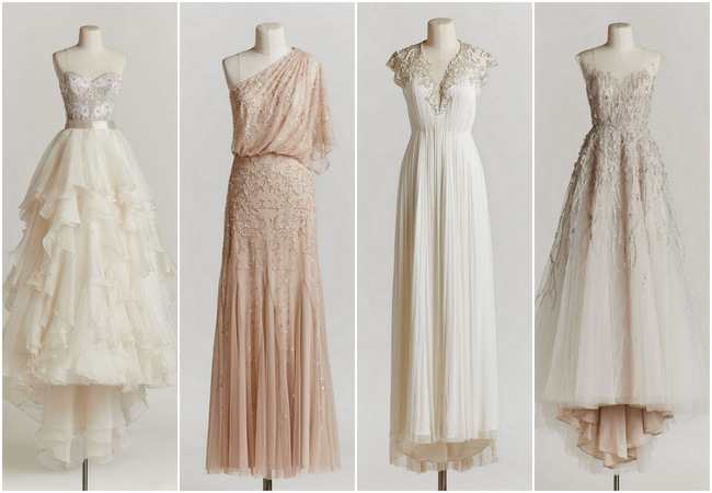 10 Exquisitely Decadent Vintage,Style Wedding Dresses