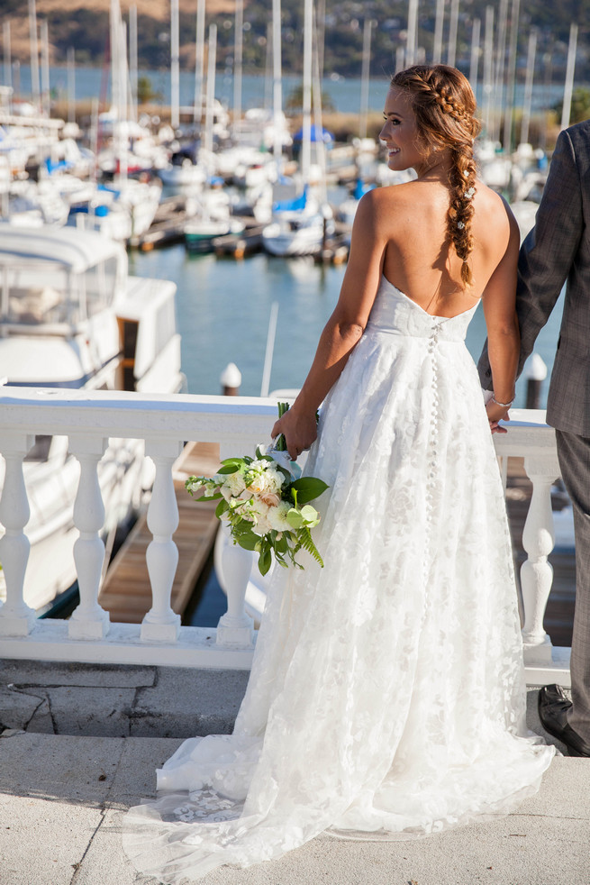 Elegant Gray Navy Nautical Wedding by Rachel Capil Photography and Lindsay Lauren Events