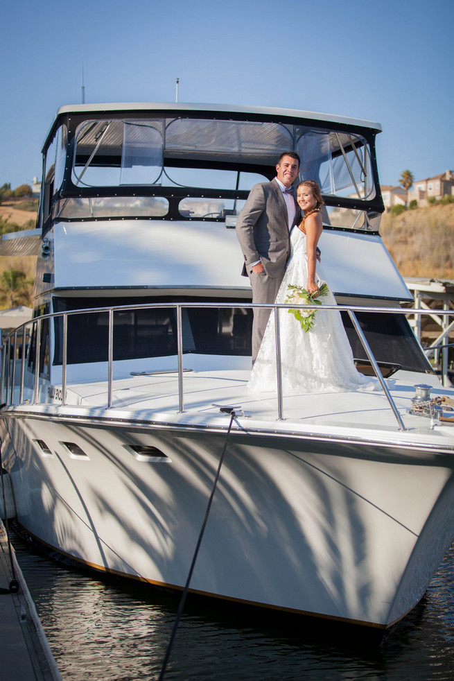 Elegant Gray Blue Nautical Wedding by Rachel Capil Photography and Lindsay Lauren Events
