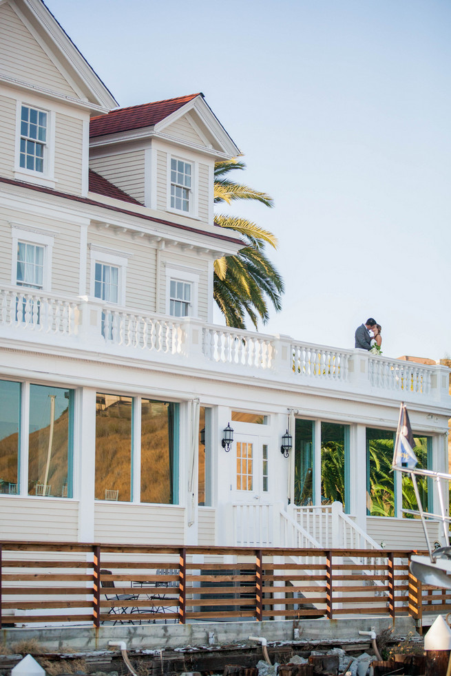 The Lighthouse. Elegant Gray Blue Nautical Wedding by Rachel Capil Photography and Lindsay Lauren Events