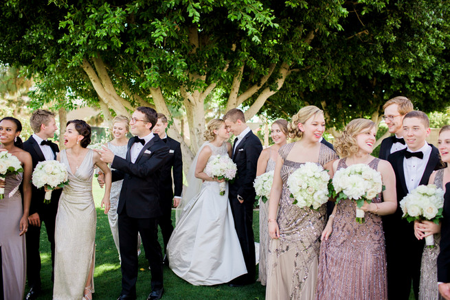 Glamorous Gatsby Inspired Wedding by Elyse Hall Photography - Confetti Daydreams Wedding Blog