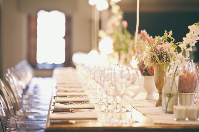 Protea Filled Wedding at Langkloof Roses {Tersius Gous Photography}