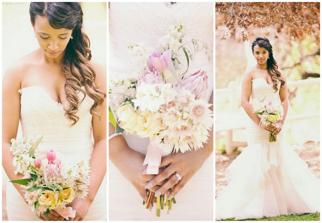 Pretty Pink Wedding at Langkloof Roses {Tertius Gous Photography}