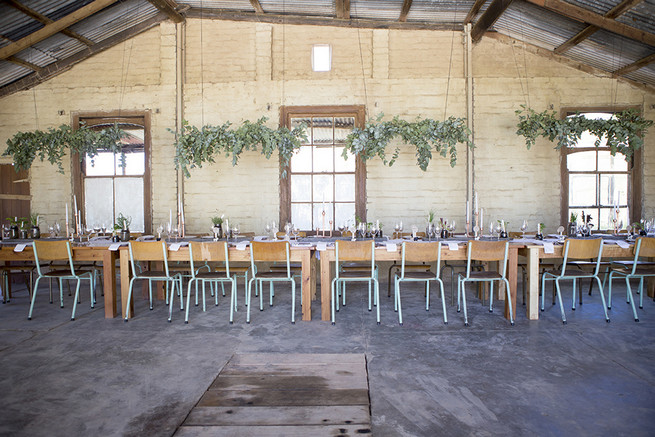 Barn reception // // Organic Farm Style Karoo Wedding // christine Le Roux Photography