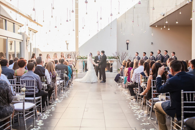 Modern Romance: Pink and Silver Wedding // Jessica Q Photography