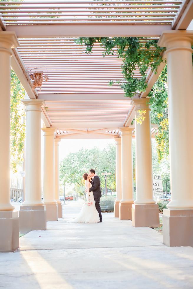 Maggie Sottero wedding dress // Modern Romance: Pink and Silver Wedding // Jessica Q Photography