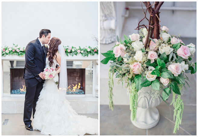 Urban Romance: Pink and Silver Wedding {Jessica Q Photography}