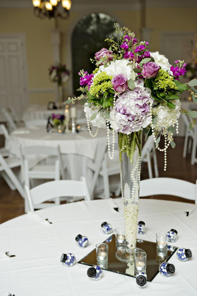 Purple And Gray Georgia Garden Wedding An Freeman Photography