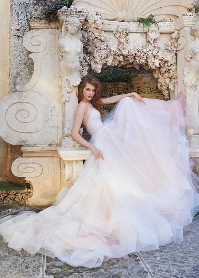 Super romantic tulle Tara Keely Wedding Dress