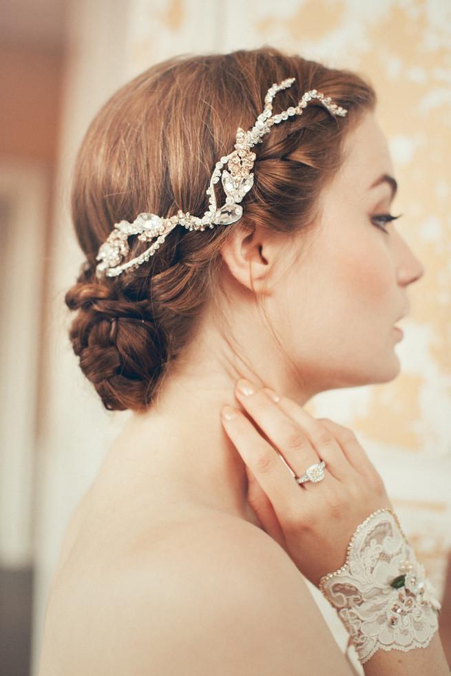 Luxurious Vintage Wedding Hair Accessories By Jannie Baltzer Sandra Åberg Photography