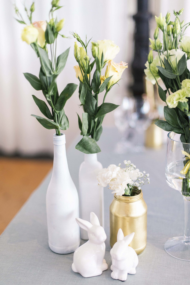 White Amp Gold Diy Chevron Wedding Claire Thomson Photography