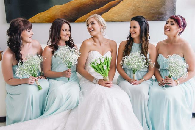 White & Gold DIY Chevron Wedding {Claire Thomson Photography}