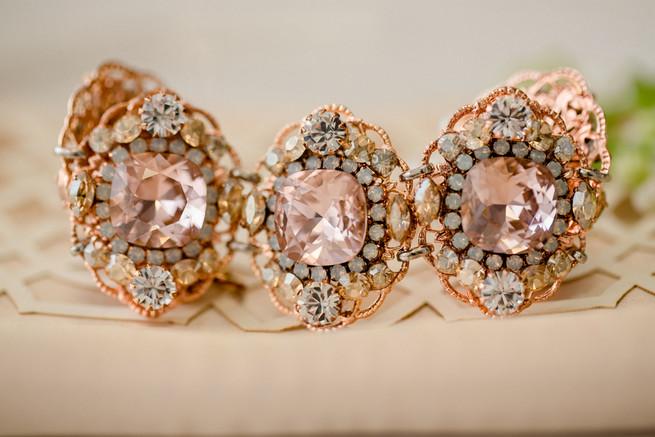 Bridal jewellry. White on White Glamorous Wedding Ideas by ENV Photography.