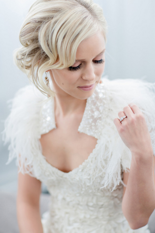 White Glamorous Wedding Ideas By Atmosphere Weddings Env