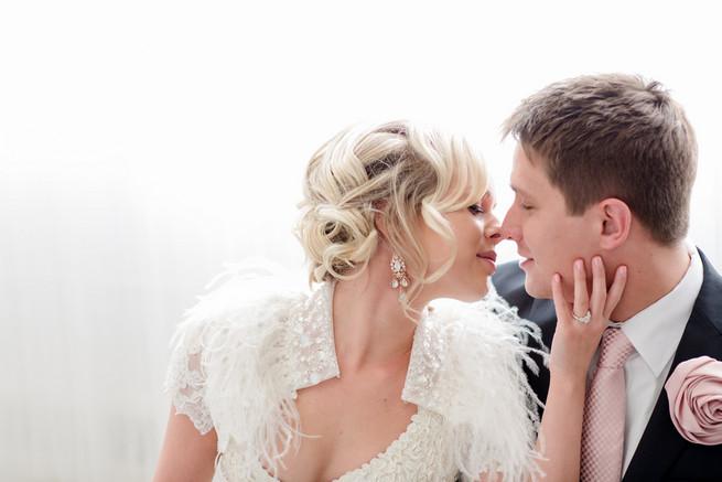 White on White Glamorous Wedding Ideas by ENV Photography.