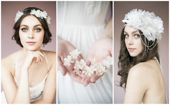Blair Nadeau Flower Headpieces