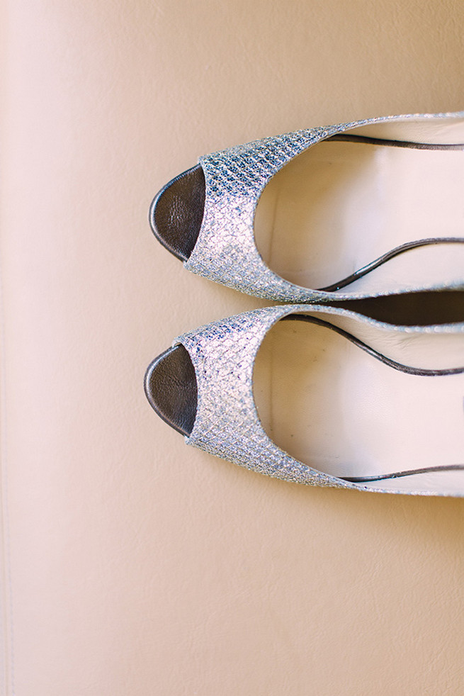 Silver Jimmy Choo's // / Elegant Milwaukee Wedding Valo Photography