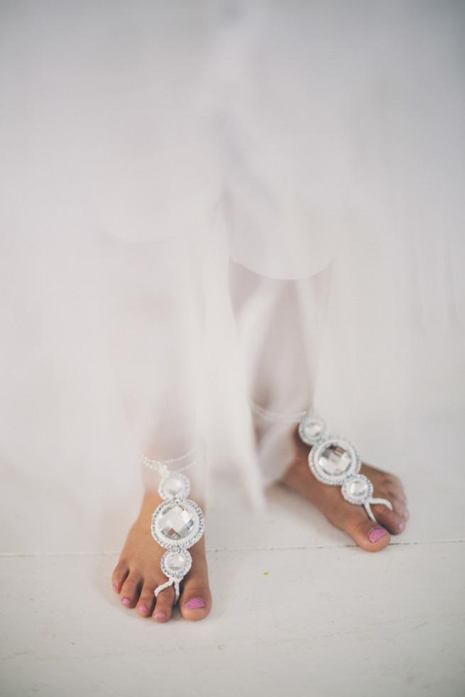 Sparkly flat wedding shoes in silver. Grey White Farm Wedding, South Africa // Maryke Albertyn