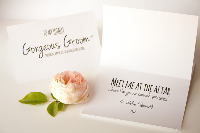To My Gorgeous Groom Card Printable {Free Printable Download}