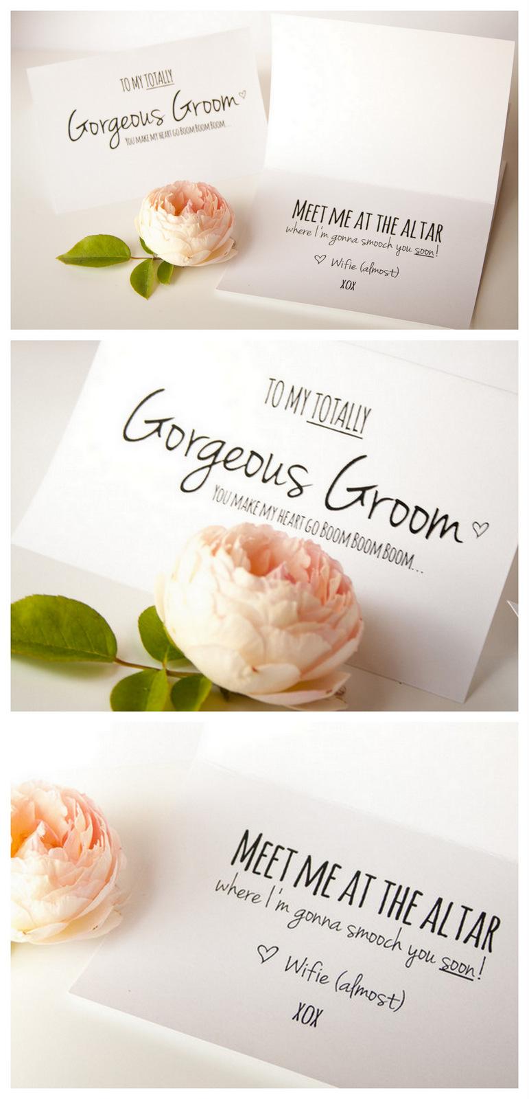 Groom Card Printable Free