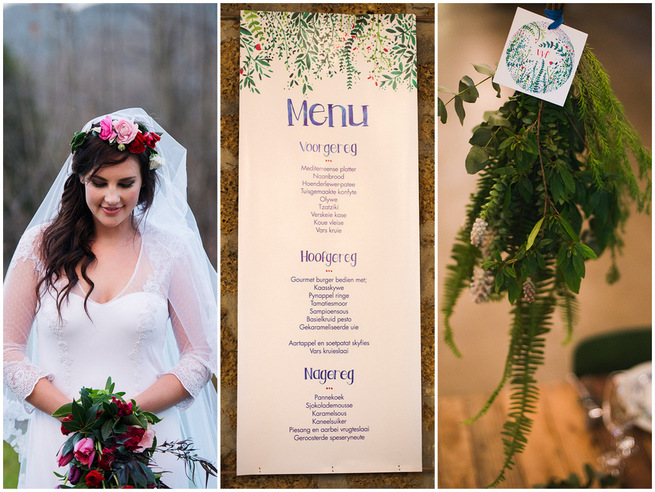 Rainy Day Woodlands Winter Wedding {Knit Together Photography}