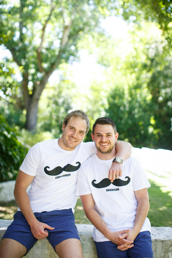 Mustache groom shirt. Pink, purple and green Natte Valleij Stellenbosch Wedding by Adene Photography